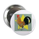 Dutch Bantam Cock Button