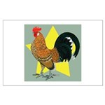Dutch Bantam Cock Large Poster