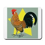 Dutch Bantam Cock Mousepad