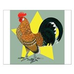 Dutch Bantam Cock Small Poster