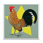 Dutch Bantam Cock Tile Coaster