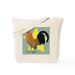 Dutch Bantam Cock Tote Bag