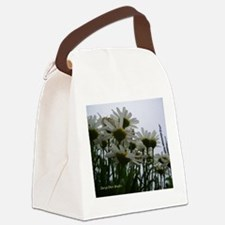 Pushing Daisies Canvas Lunch Bag