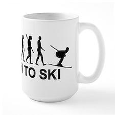 Evolution born to ski Mug