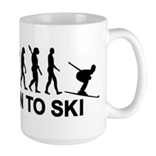 Evolution born to ski Mug