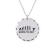Evolution born to ski Necklace