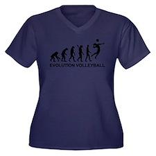 Evolution Vo Women's Plus Size V-Neck Dark T-Shirt