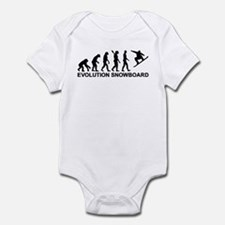 Evolution Snowboarding Snowboard Infant Bodysuit