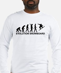 Evolution Snowboarding Snowboa Long Sleeve T-Shirt