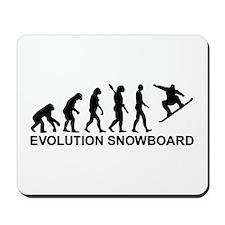 Evolution Snowboarding Snowboard Mousepad