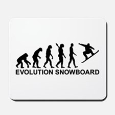 Evolution Snowboarding Snowboard Mousepad