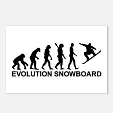 Evolution Snowboarding Sn Postcards (Package of 8)