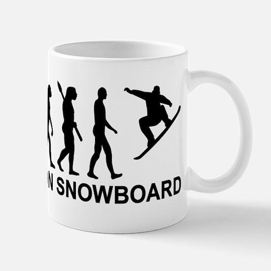 Evolution Snowboarding Snowboard Mug