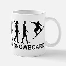 Evolution Snowboarding Snowboard Small Small Mug