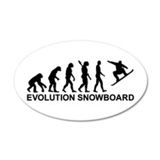 Evolution Snowboarding Snowb Wall Decal