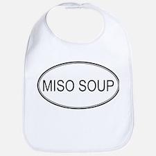 MISO SOUP (oval) Bib