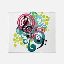 Orchestra Throw Blanket