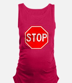 Cool Sign Maternity Tank Top