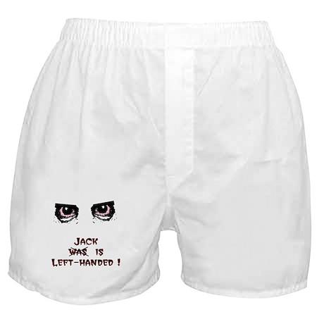 Jack was Left-handed Boxer Shorts