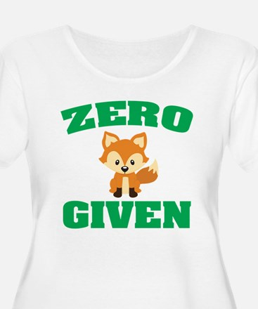 Zero Fox Given Plus Size T-Shirt