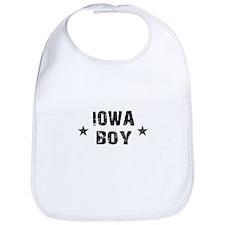 Iowa Boy Bib