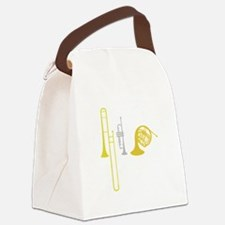 Brass Instruments Canvas Lunch Bag