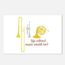 Life Without Music PGbn01117b Postcards (Package o