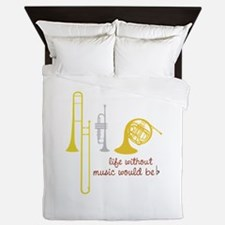 Life Without Music PGbn01117b Queen Duvet