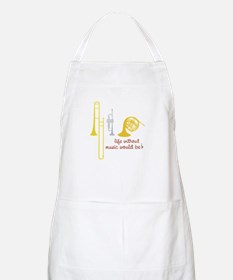 Life Without Music PGbn01117b Apron