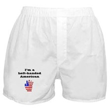 Left-handed American Boxer Shorts