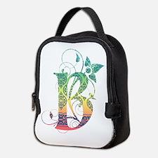 Bohemian Monogram B Neoprene Lunch Bag