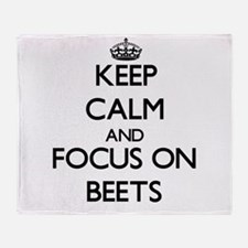 Cute Beet Throw Blanket