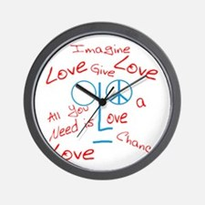 Funny Imagine Wall Clock