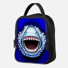 Shark Jaws Attack Neoprene Lunch Bag