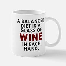 A balanced diet Mugs