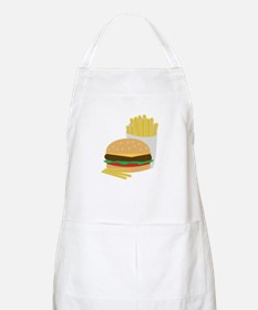 Burger and Fries Apron
