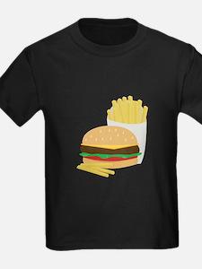 Burger and Fries T-Shirt