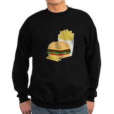 Burger and Fries Sweatshirt