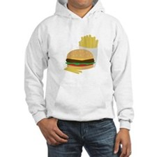 Burger and Fries Hoodie