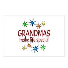 Special Grandma Postcards (Package of 8)