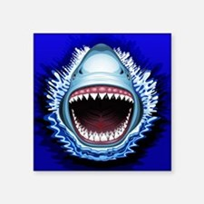 Shark Jaws Attack Sticker
