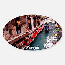 Gondolas in Venice Decal