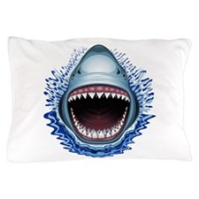 Shark Jaws Attack Pillow Case
