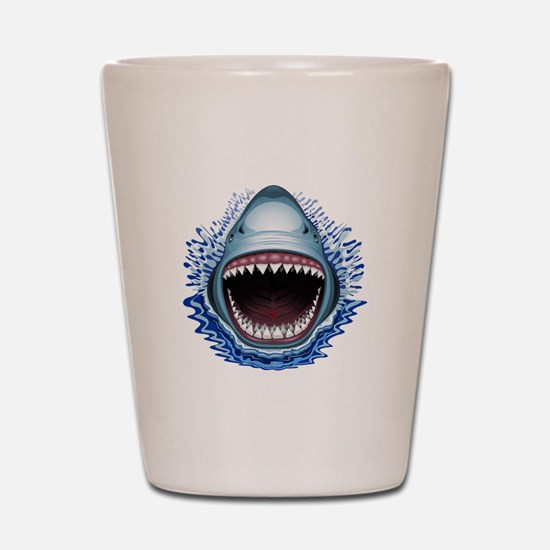 Shark Jaws Attack Shot Glass