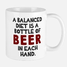 Balanced diet beer Mug