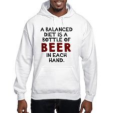 Balanced diet beer Hoodie