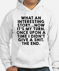 What an interesting story Hoodie
