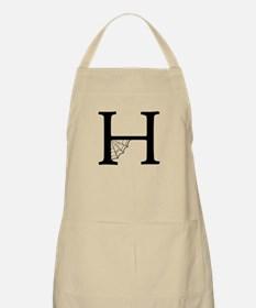 H With Web Apron