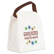 Special Grandchildren Canvas Lunch Bag