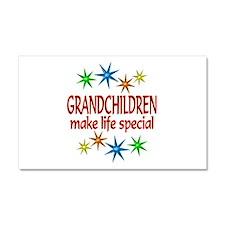 Special Grandchildren Car Magnet 20 x 12